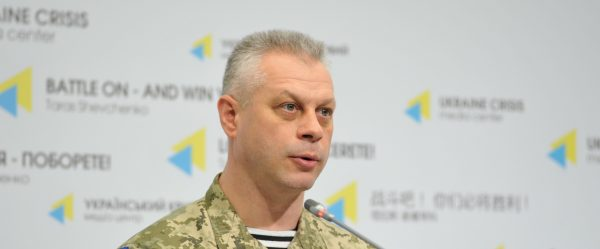 Militants attack twice the area of potential disengagement of troops in Stanytsia Luhanska – Ministry of Defense