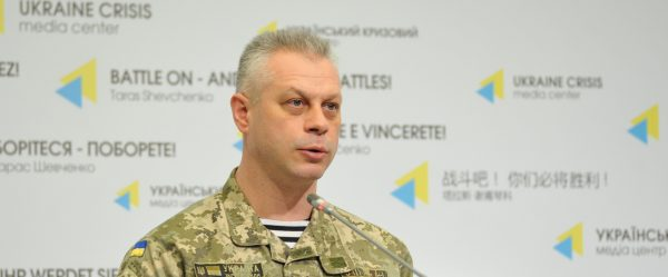 Colonel Lysenko: Two Ukrainian troops die in combat yesterday and five wounded