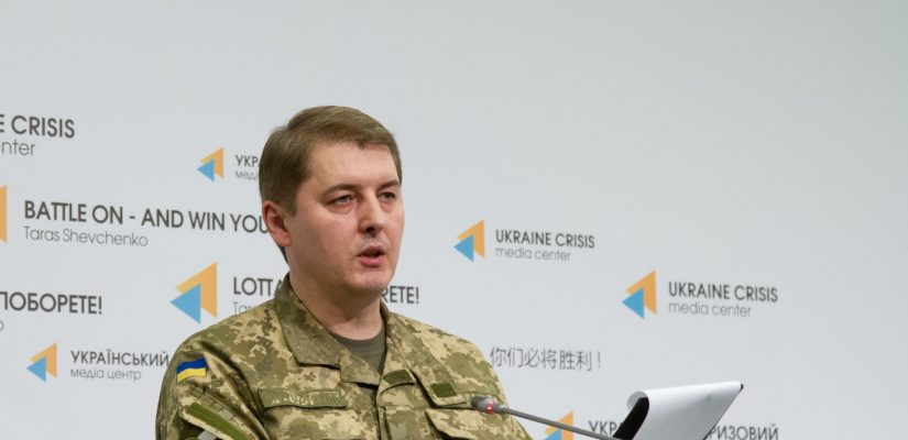 Colonel Oleksandr Motuzyanyk: Militants use small arms, large machine guns and grenade launchers near Avdiivka