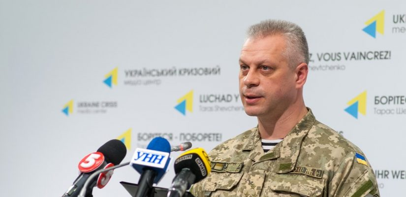 Militants make massive artillery attack, use 122-mm systems near Pisky – Colonel Lysenko