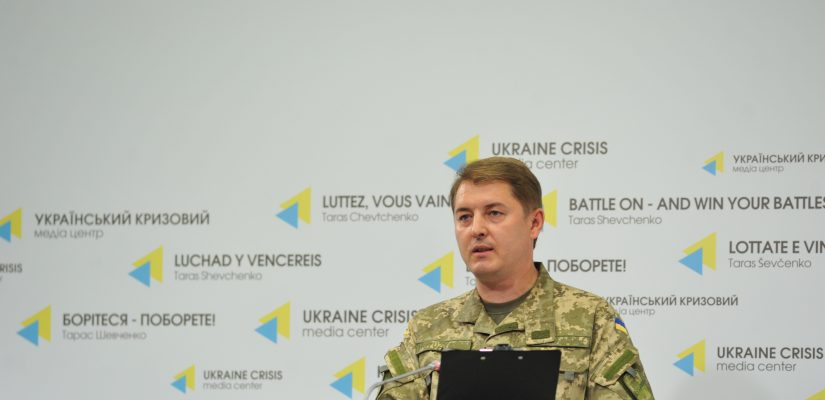 Militants actively use 82-mm and 120-mm mortars in Mariupol sector – Colonel Motuzyanyk