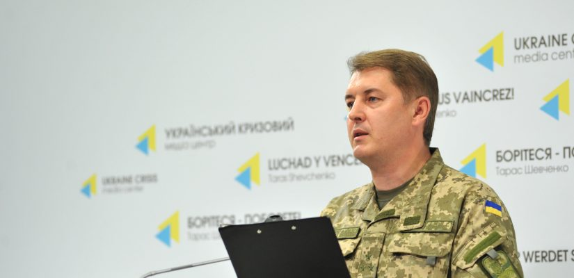 Intense hostilities go on near Avdiivka, local chemical plant switched to emergency mode – Col. Motuzyanyk