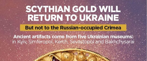 Scythian Gold will return to Ukraine