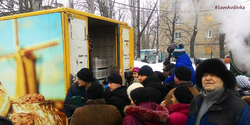 Two and a half thousand residents of Avdiivka received humanitarian aid – Iryna Perkova