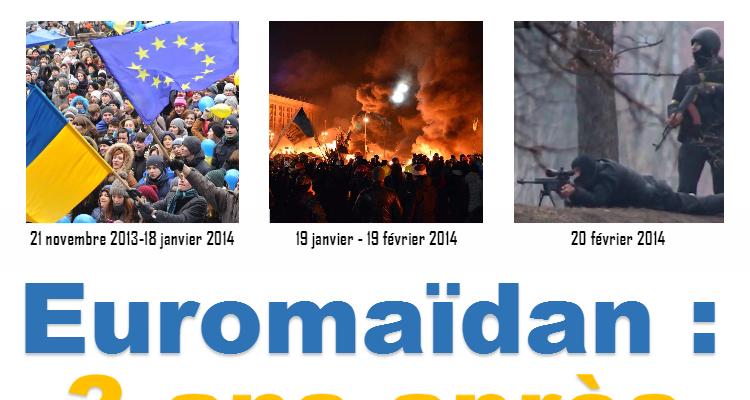 Euromaïdan: 3 ans après
