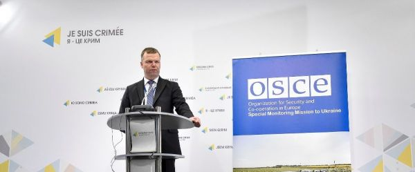 OSCE SMM: Level of violence in ATO zone significantly decreases throughout the week, but serious escalation happens yesterday