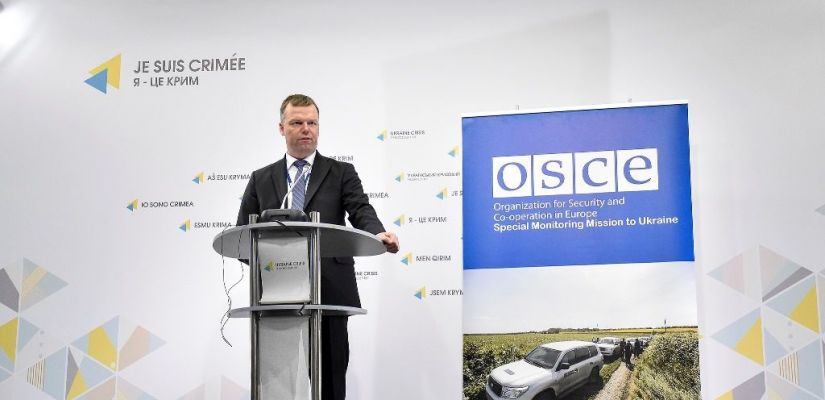 SMM OSCE: almost 294 thousand ceasefire violations recorded in Donbas since the beginning of 2017