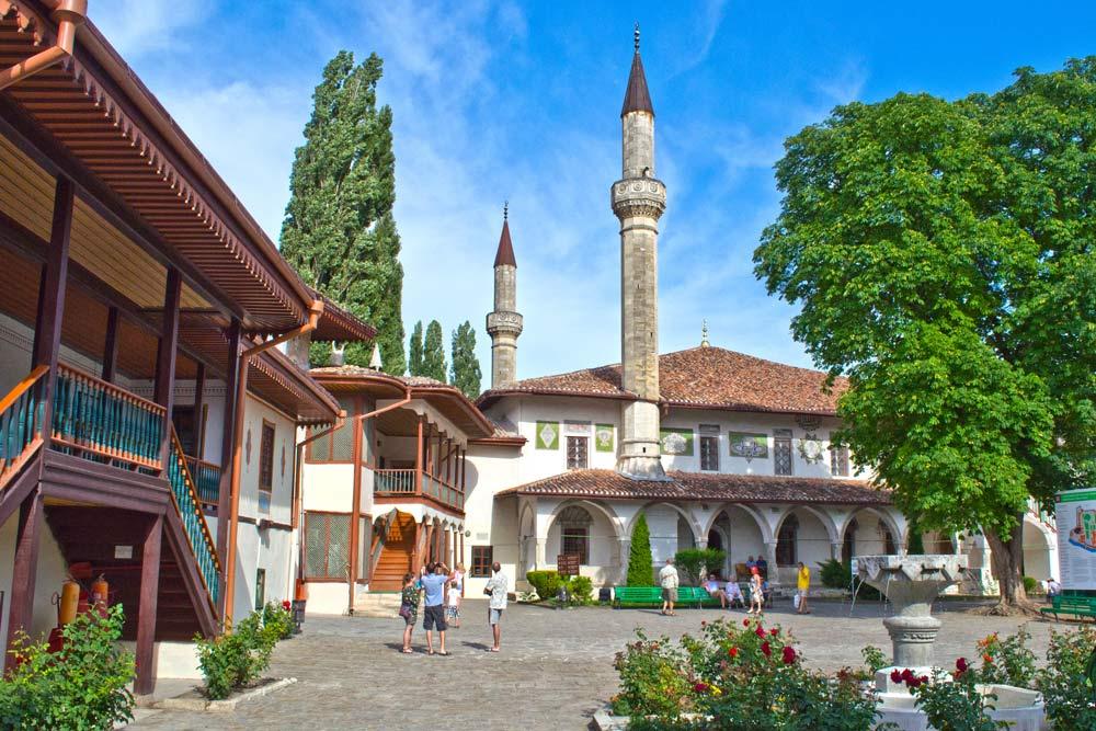 Bakhchysarai Khan residency