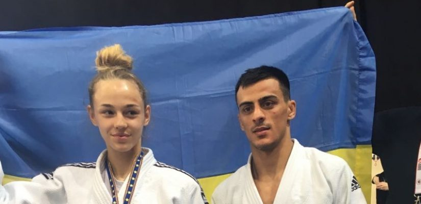 Ukraine wins two gold medals at 2017 European Judo Championships in Warszaw