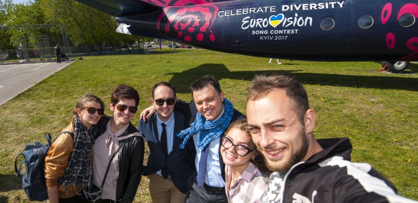 New art-plane presented in Kyiv for Eurovision