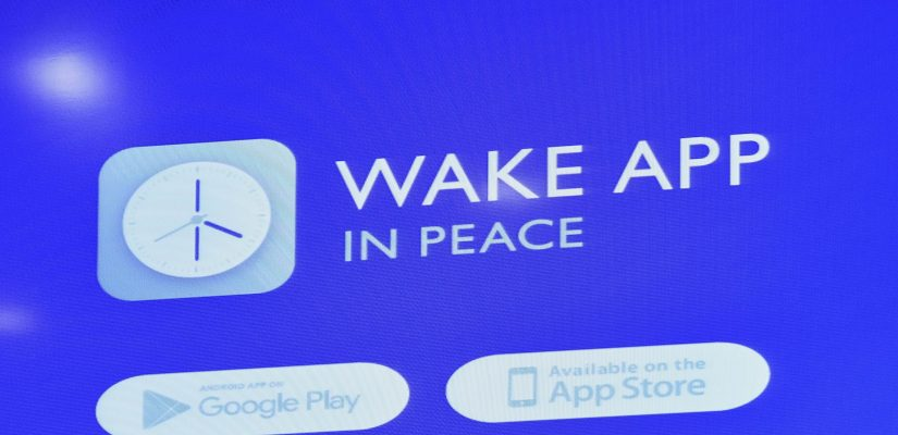 Mobile application to collect money for the Ukrainian army … by waking you up!