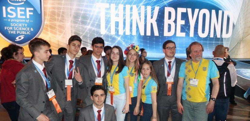 Ukrainian schoolgirl triumphs at Intel international scientific competition
