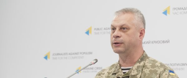 Ministry of Defense: Militants use heavy weapons close to Avdiyivka and Krasnohorivka