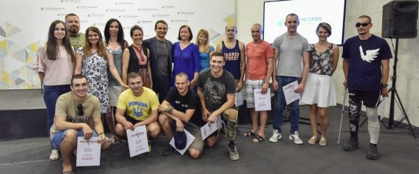 Ukrainian team of war veterans to take part in the US Marine Corps Marathon