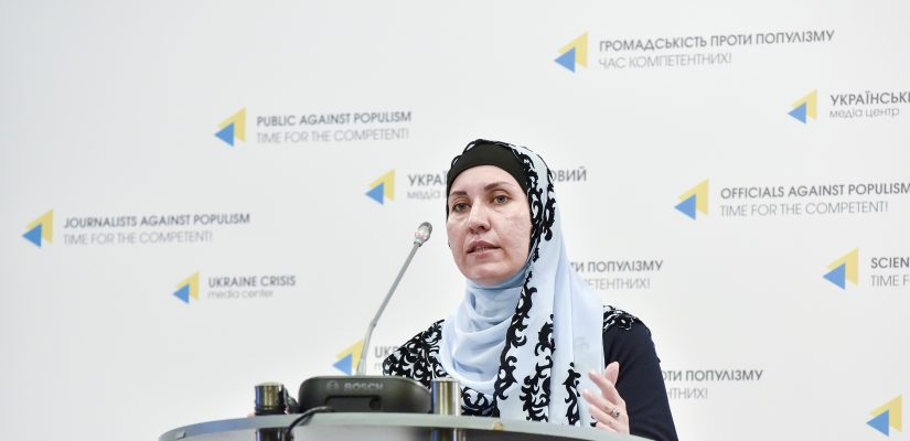 Maria Tomak: 256 participants of peaceful gatherings charged with administrative responsibility in Crimea since annexation
