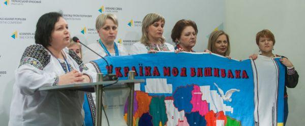Акція «Україна моя вишивана» уже об'єднала 6600 людей