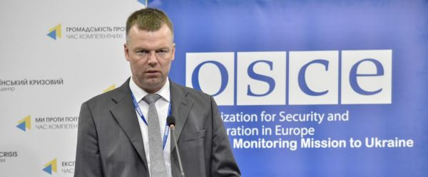Alexander Hug: OSCE SMM recorded over 7,400 ceasefire violations last week