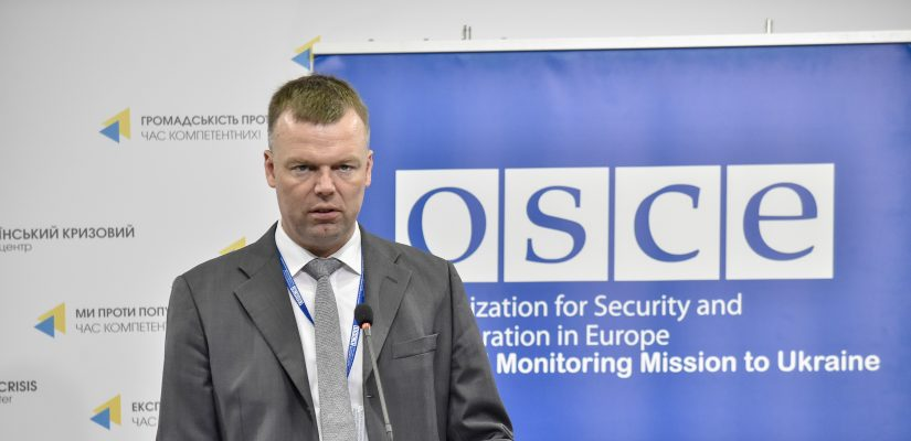 OSCE SMM: over 8000 ceasefire violations recorded in eastern Ukraine over the last week