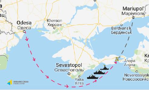 Russia attacks in the Azov Sea: what we know so far. LIVE